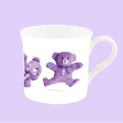 Cute fine bone china mug featuring Bobbie the Bear.