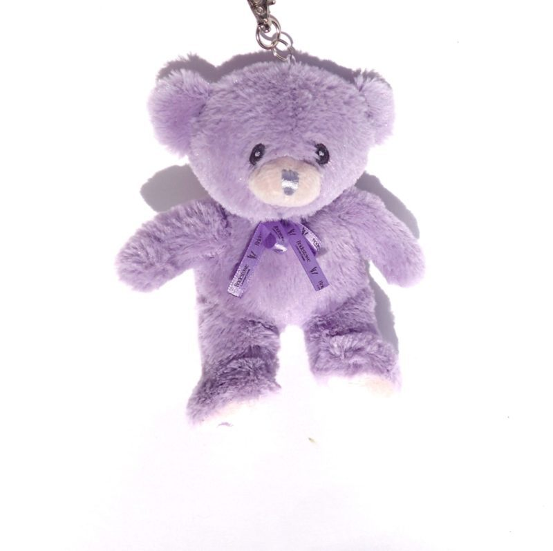 Bobbie the Bear Key Ring Shopping Bag against a white background.