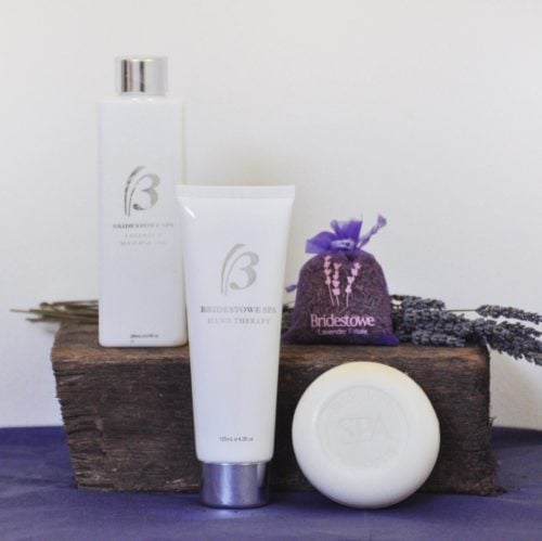 Bridestowe Spa gift hamper.